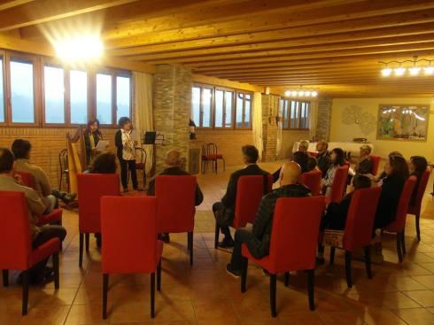 La calda sala dell'Agriturismo Cascina Salazzara di Ponte Vecchio di Magenta (Mi)